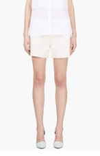 BAND OF OUTSIDERS Ecru Pocket Shorts for women