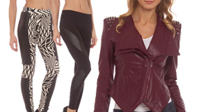 Sweaters, Jackets and leggings