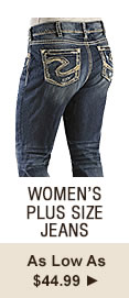 Womens Plus Size Jeans on Sale