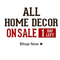 All Home Decor on Sale