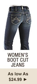 Womens Boot Cut Jeans on Sale