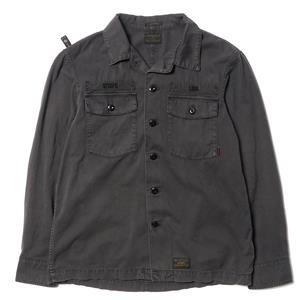 WTaps Buds L/S / Shirts. Cotton. Twill Black