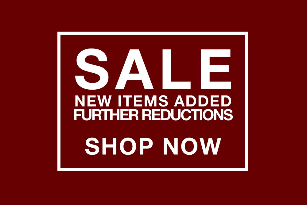 End of Season SALE | New Items Added + Further Reductions