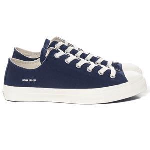 WTaps Canvas Sneaker / Shoes. Cotton. Canvas Navy