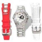 Invicta 11343 Men's Subaqua Noma IV Silver Dial Interchangeable Bracelet Chronograph Dive Watch
