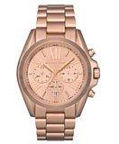 Michael Kors MK5503 Women's Rose Gold Tone SS Chronograph Watch