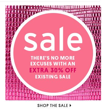 SALE - SHOP THE SALE