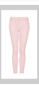 MOTO Pale Pink Leigh Jeans