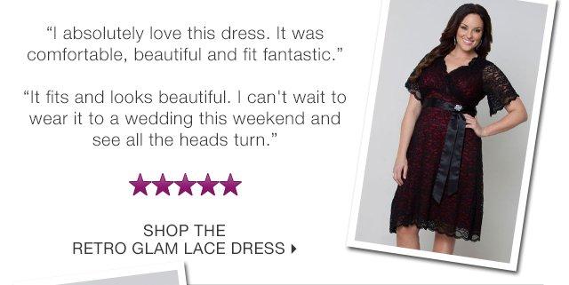 Shop the Retro Glam Lace Dress