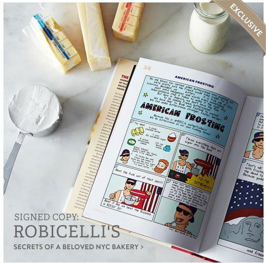 Robicelli's Cookbook