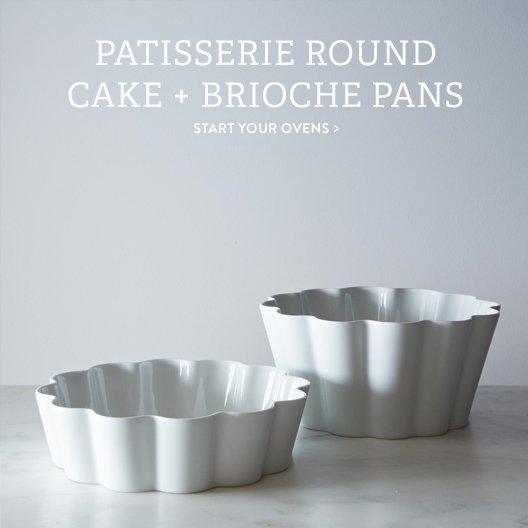 Round Cake + Brioche