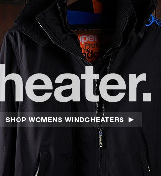 Superdry Womens Windcheaters