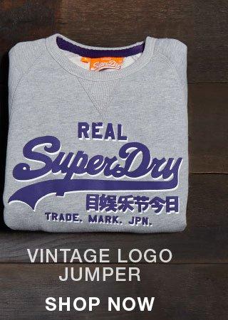 vintage logo jumper