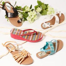 Trendy Toes: Women's Sandals