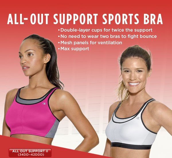 SHOP All-Out Support II bra