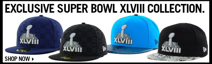 Exclusive Super Bowl XLVIII Collection