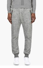 DSQUARED2 Grey Drop Crotch Lounge Pants for men