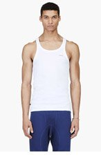 DIESEL White UMTK-Bale Tank Top for men
