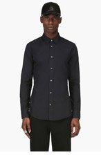 MAISON MARTIN MARGIELA Black Classic Shirt for men