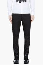 PUBLIC SCHOOL Black PS13 Lambskin Combo Jeans for men