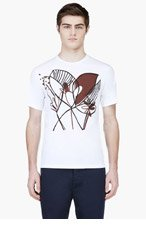 MARNI White Katja Schwalenberg Edition T-Shirt for men