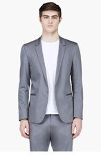 CALVIN KLEIN COLLECTION Grey Summer Blazer for men
