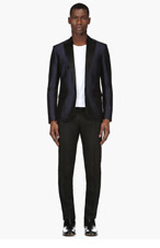 DSQUARED2 Navy & Black Tuxedo for men
