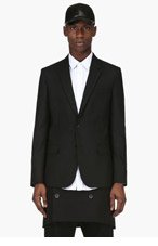 MAISON MARTIN MARGIELA Black Wool Classic Blazer for men