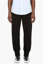 MAISON MARTIN MARGIELA Black Button-Fly Lounge Pants for men