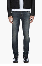 NUDIE JEANS Blue Grim Trim Organic Cotton Jeans for men