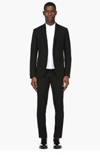 DSQUARED2 Black Wool Classic Suit for men