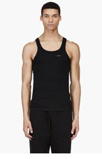 DIESEL Black UMTK-Bale Tank Top for men