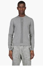 DSQUARED2 Grey Crewneck Sweater for men