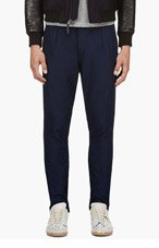 PAUL SMITH JEANS Navy Drawstring Trousers for men