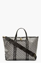 PIERRE HARDY Black Cube Print Canvas Bag for men
