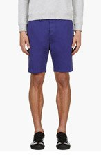 PAUL SMITH JEANS Indigo Chino Shorts for men