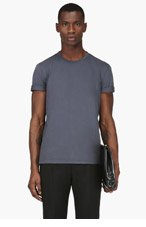 MAISON MARTIN MARGIELA Slate Basic T-Shirt for men