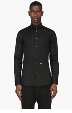 DSQUARED2 Black Classic Shirt for men