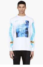 HOOD BY AIR White X-Ray T-Shirt for men