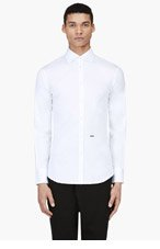 DSQUARED2 White Classic Slim Shirt for men