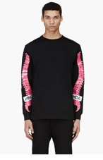 HOOD BY AIR Black Ache T-Shirt for men