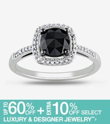 Up to 60% off + Extra 10% off Select Designer Jewelry**