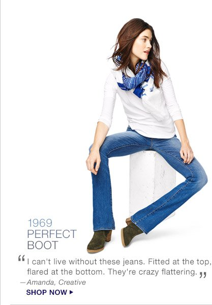 1969 PERFECT BOOT   SHOP NOW