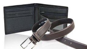 Men's Designer Belts & Wallets