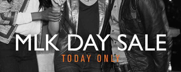 MLK DAY SALE - TODAY ONLY