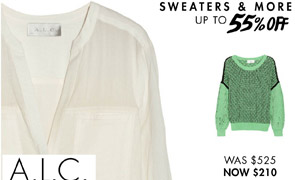 A.L.C. UP TO 55% OFF