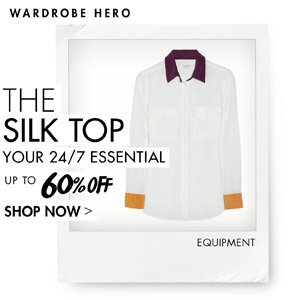 THE SILK TOP - UP TO 60% OFF