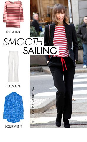 SMOOTH SAILING - NAUTICAL NEVER LOOKED BETTER!