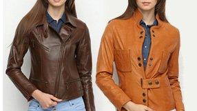 Women's Leather Jackets by Deda