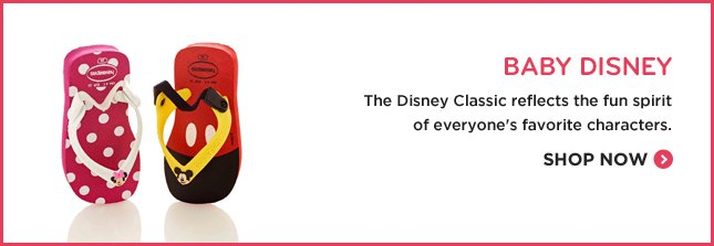 BABY DISNEY - The Disney Classic reflects the fun spirit of everyone's favorite characters. SHOP NOW.
